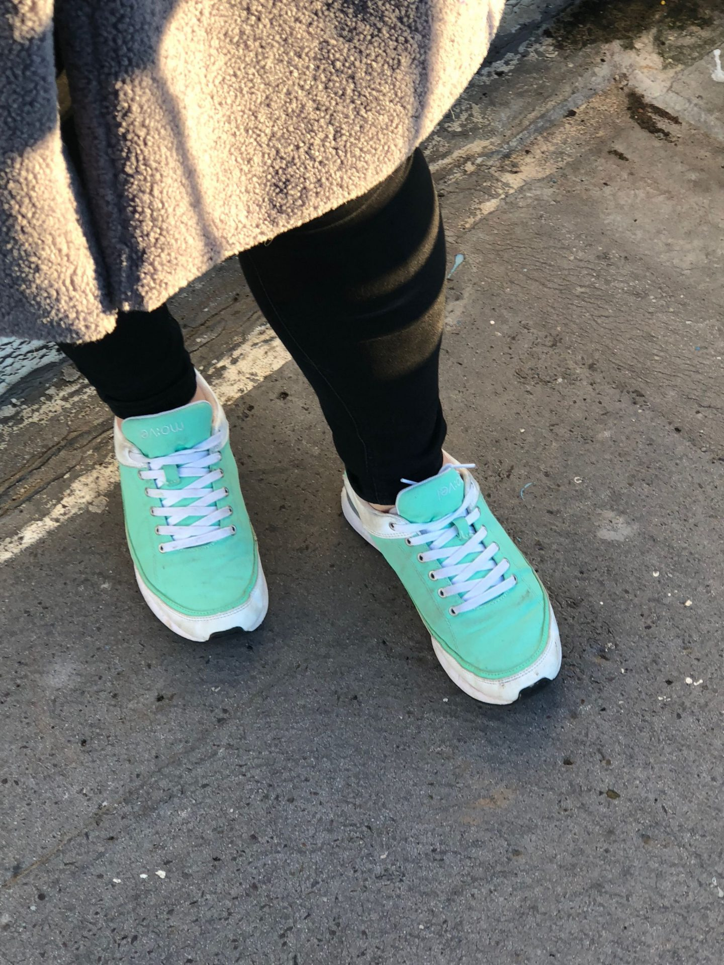 Green Movel Trainers